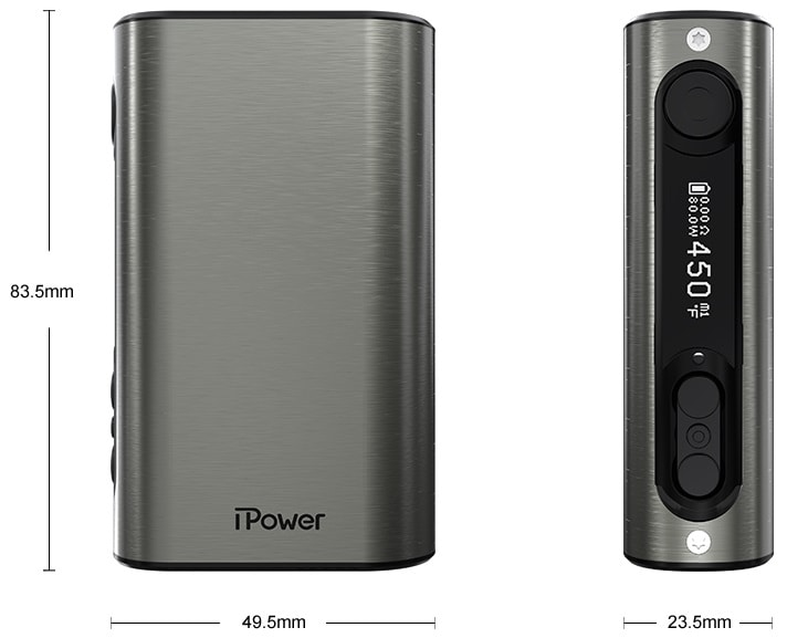 ipower box mod, eleaf e-cigarete - airpuf