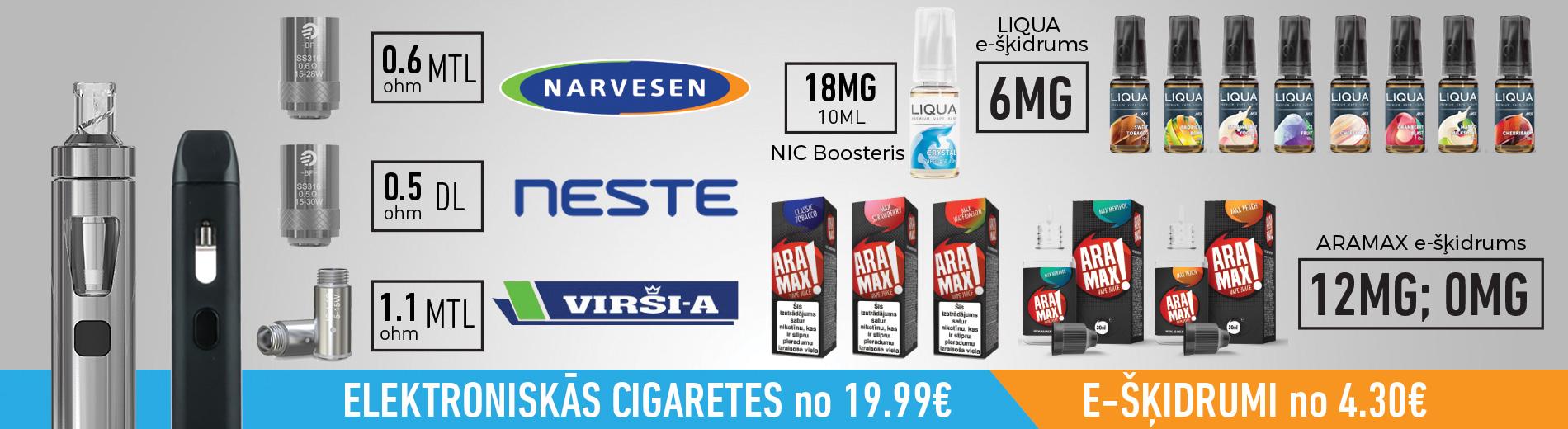 e-cigaretes narvesen, elektroniskās cigaretes neste dus, virši a, airpuf