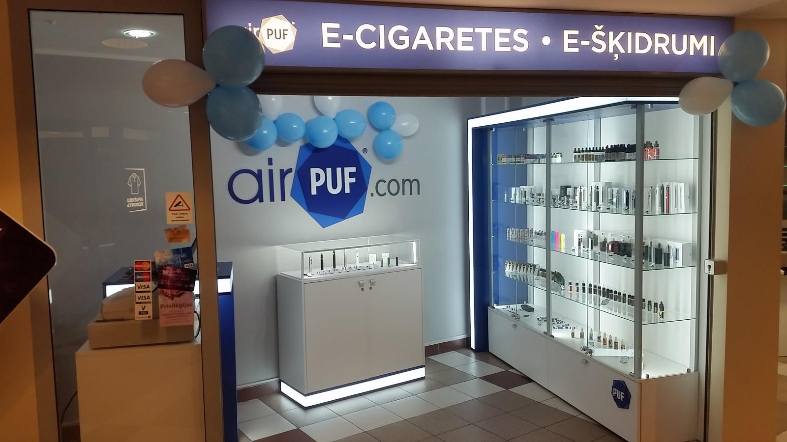 e-cigaretes mols, e-šķidrumi mols, elektroniskās cigaretes, tc mols, airpuf