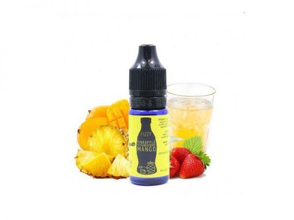 Ananāsu, zemeņu un mango e-šķidruma koncentrāts