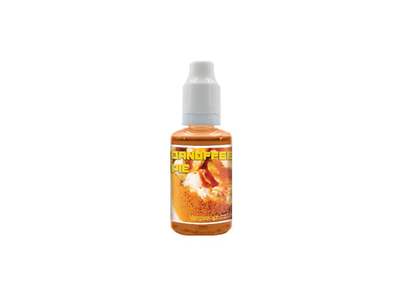 Banoffee Pie koncentrāts, e-šķidruma aromāts, e-šķidrums, e-cigaretes šķidrums, airpuf